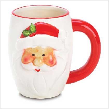 Smiling Santa Mug