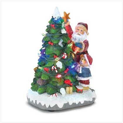 Musical Light-Up Holiday Tree