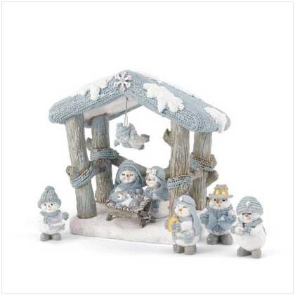 Snow Buddies Nativity Set