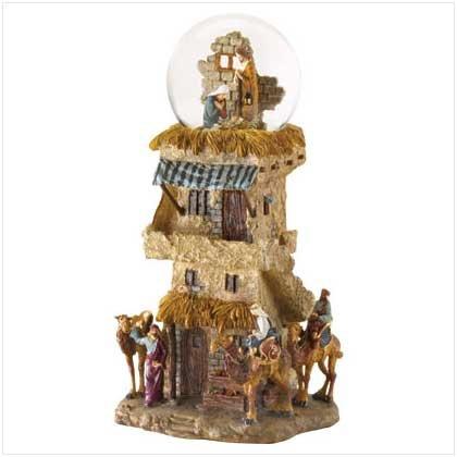 Nativity Deluxe Snowglobe