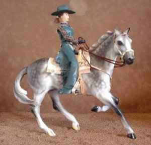 Breyer Western Pleasure LSQ Show Doll - Leopard & Green
