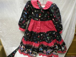 Daisy Kingdom Raggety Ann and Andy Dress