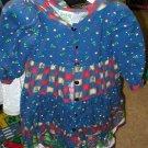 Daisy Kingdom Dress - Country print with Hoodie