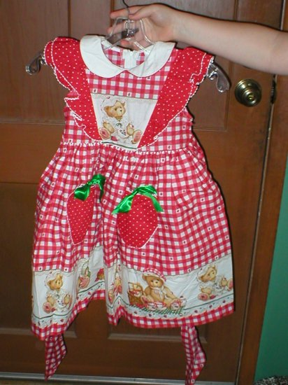 Daisy Kingdom - Strawberry sleeveless dress