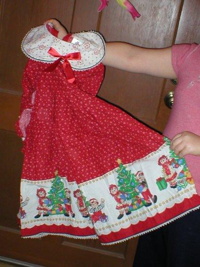 Daisy Kingdom - Raggety Ann & Andy Holiday Dress