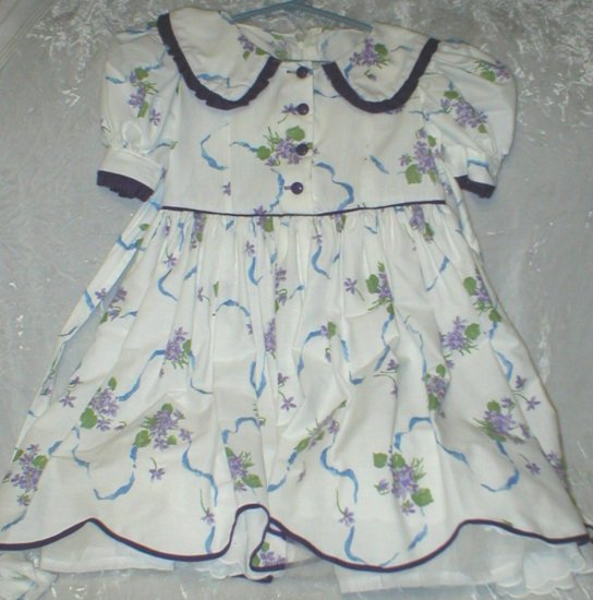 Daisy Kingdom - Violets Dress home sewn
