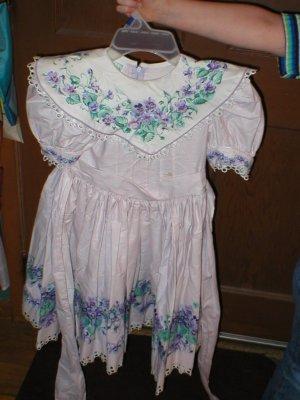 Daisy Kingdom - Violets Dress Factory made