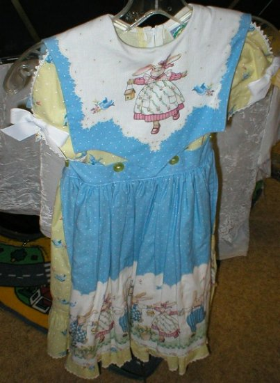 Daisy Kingdom - Easter Dress with Bunny