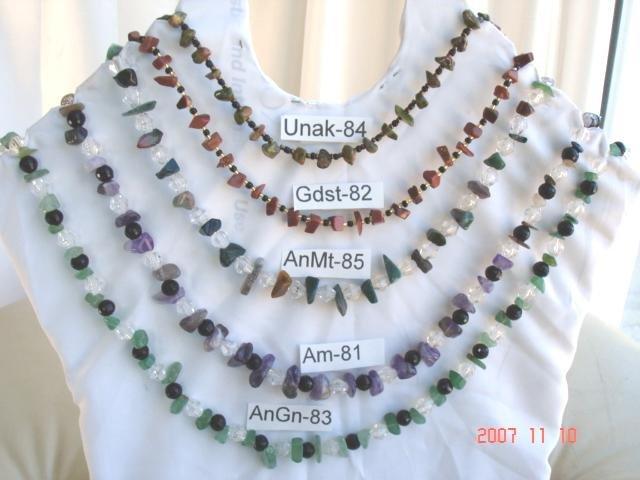 Genuine  Genuine amethyst, aventurine, jade, carnelian, goldstone, or unakite chip or nuggets