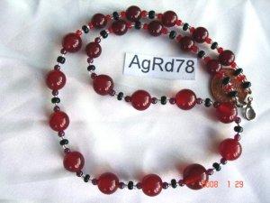 Genuine agate, jasper or other semi-precious stone necklaces