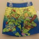 NWT Boys Teenage Mutant Ninja Turtle's 24 Months Swim Trunks Nickelodeon