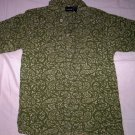 Boy's Button Front Shirt  Green by Cherokee