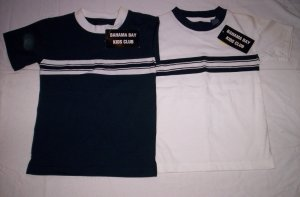 Boy's Shirts Blue & White by Bahama Bay Kids Club
