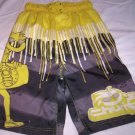 Boy's Swimtrunks, Yellow by Chump