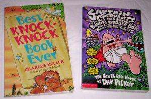 Books Set of 2 Capt.Underpants & Joke Book