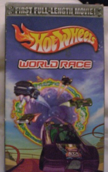 VHS Hot Wheels World Race