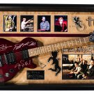 Train Band Signed Guitar For Me It's You Custom Framed