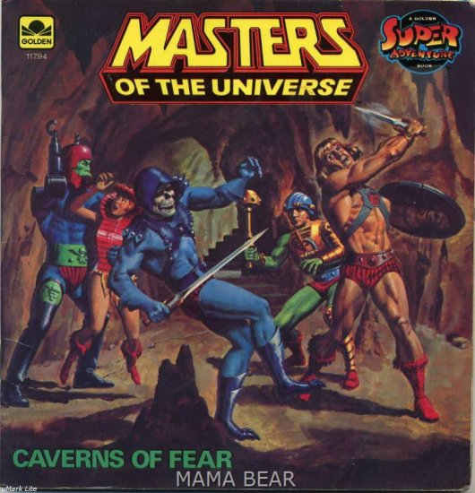 Caverns Of Fear, Masters Of The Universe, Golden Super Adventure Book