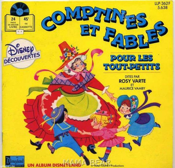 Comptines ET Fables Disney Decouverts **FRENCH**