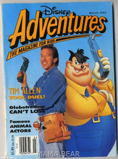 Disney Adventures The Magazine For Kids March 1993