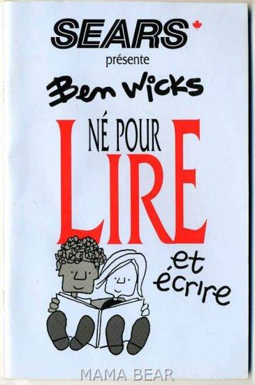 Sears Presene Ben Wicks Lire Magazine *French*