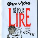 Sears Presene Ben Wicks Lire Magazine *French*