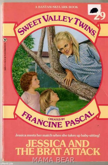 Jessica and The Brat Attack Sweet Valley Twins Series # 29