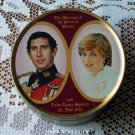 Princess Diana and Prince Charles Sweets Tin