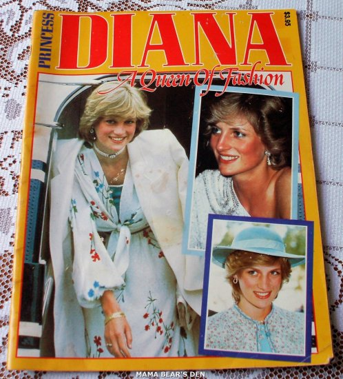 Princess Diana Queen Of Fashion - Very Rare!