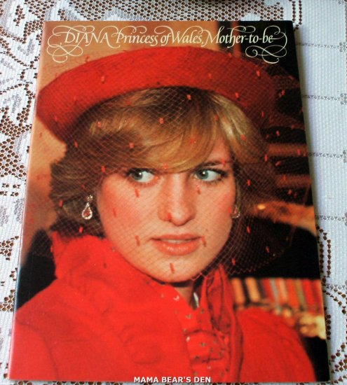 Diana Princess of Wales Mother To Be ~Rare~