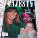 Welcome To The Family Princess Beatrice's Christening Majesty Magazine Volume 9 No 10 February 1989