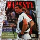 Prince Charles Majesty Magazine Volume 9 No 7 November 1988 Majesty Magazine
