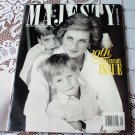 Princess Diana Majesty Magazine Volume 11 No 5 May 1990 Monthly Royal Review 10th Anniversary Issue