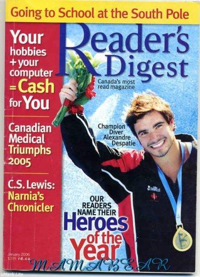 Readers Digest  Magazine January 2006