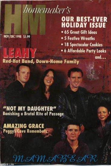 Canadian Homemakers Magazine Nov/Dec 1998