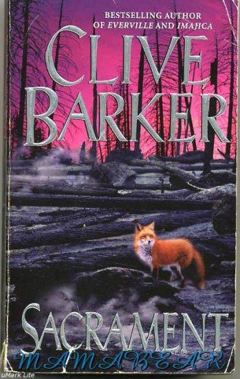 Sacrament by Clive Barker  Mystery Paper Back