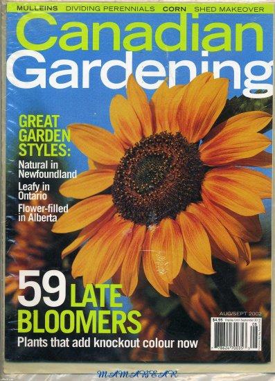 Canadian Gardening  August/September 2002