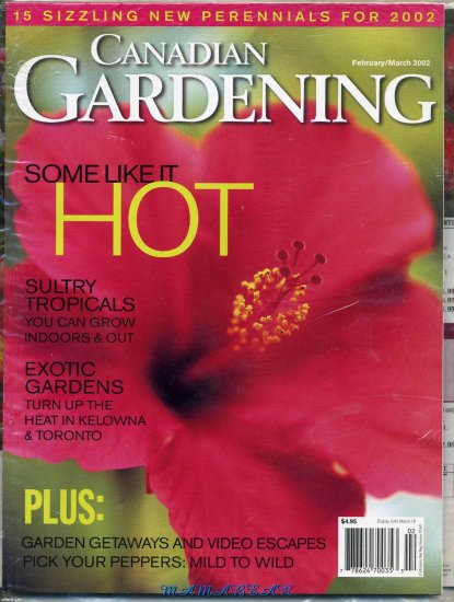 Canadian Gardening February/March 2002 Back Issue