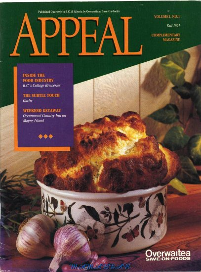 Appeal Magazine, What's Cooking by Kraft & Quick & Tasty Pork  Pamphlet Back Issues