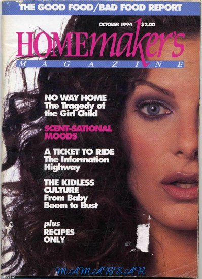 Canadian Homemakers Magazine Back Issue October 1994