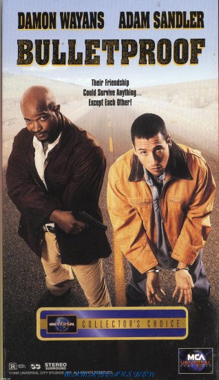 Bulletproof  VHS - Damon Wayans and Adam Sandler 1996 Comedy