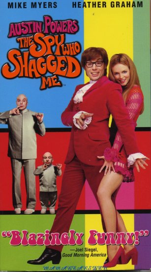 The Spy Who Shagged Me 1999 VHS Starring Austin Powers