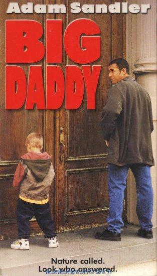 Big Daddy 1999 VHS Movie Starring Adam Sandler
