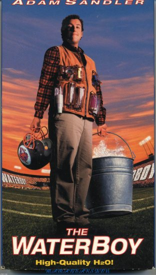 The Waterboy Starring Adam Sandler
