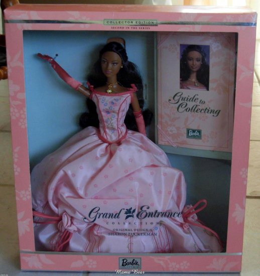 2001 Grand Entrance Collection Barbie  Second in the Series Designed  by Sharon Zuckerman