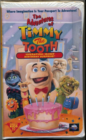 """The Adventures of Timmy The Tooth  ~ """"Operation: Secret Birthday Surprise!"""" ~"""