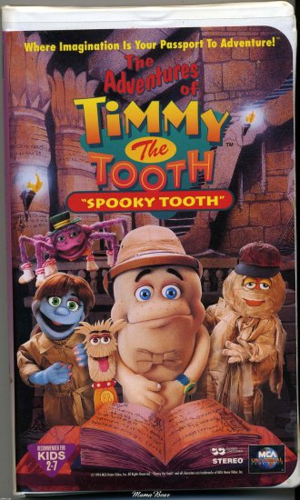 """Adventures of Timmy The Tooth  """"Spooky Tooth"""""""