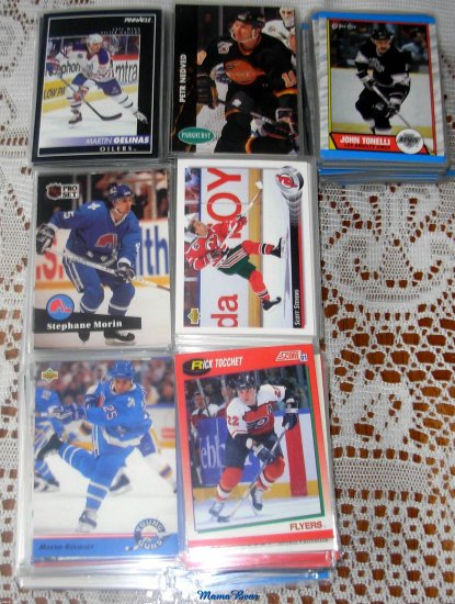 Lot of 500 NHL Hockey Cards  Near Mint