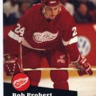 1991/92 NHL  Pro Set Hockey Card Bob Probert #61  Near Mint