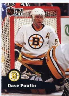 1991/92 NHL  Pro Set Hockey Card Dave Poulin #12  Near Mint